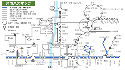 mapJRバス光線