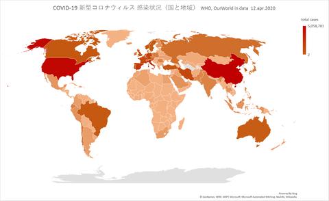 各国罹患状況412