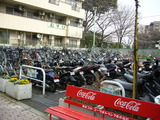 田柄自転車駐車場(無料)