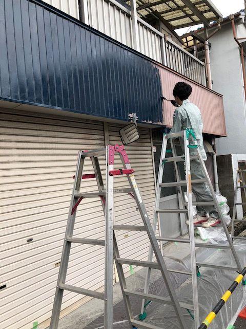 ペンキ塗り玉村さん