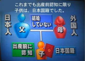 中国人の子を日本人と偽装して認知させる、
