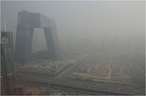 中国 大気汚染