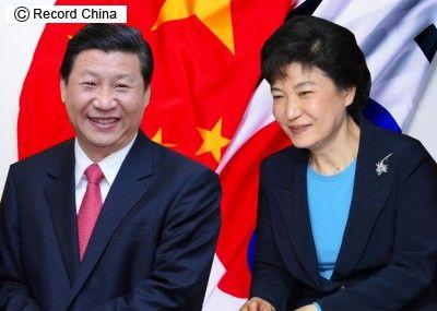 中韓首脳会談