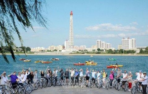 サイクリング 朝鮮
