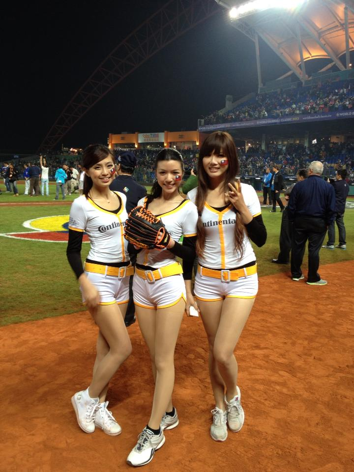 NAVER まとめ【画像あり】WBC 台湾のボールガールがエロ美しい