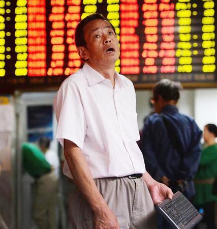 中国 株 暴落