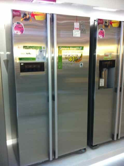 サムスンの冷蔵庫