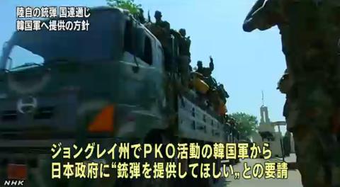 韓国 PKO
