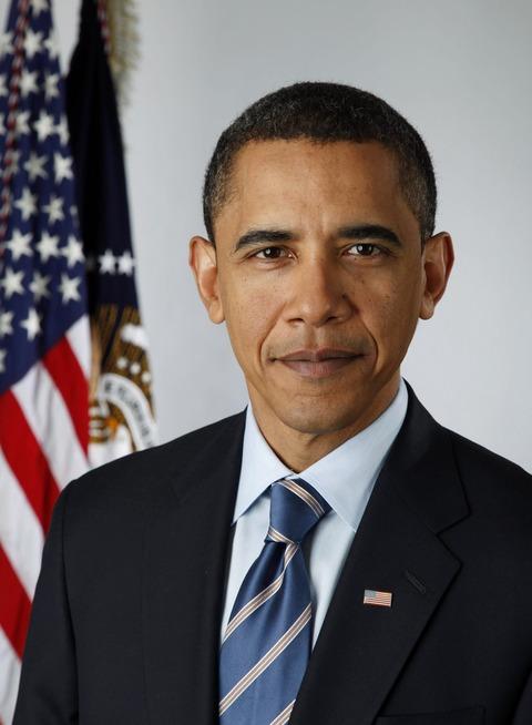 オバマ次期大統領公式肖像