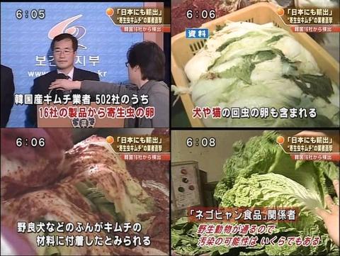 韓国料理 ゴミ