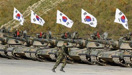 韓国軍 反撃