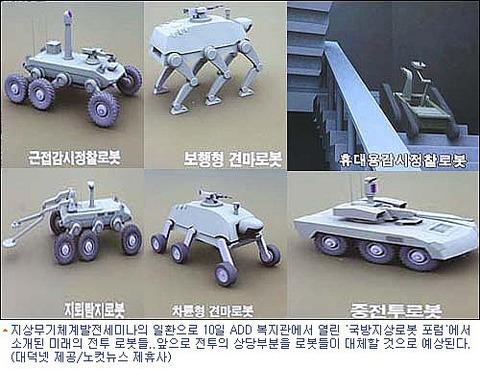 戦闘ロボット 韓国