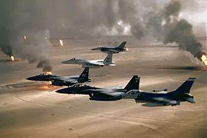 空爆 イスラム国