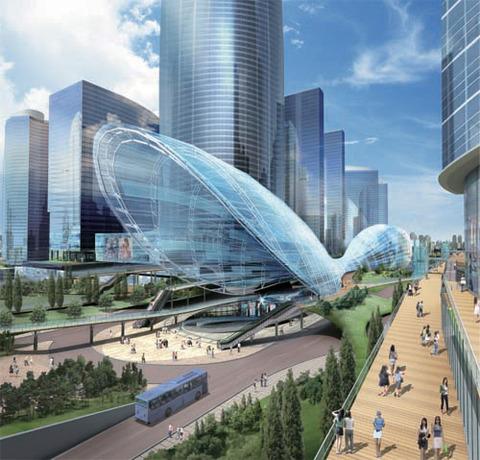 仁川市 未来都市