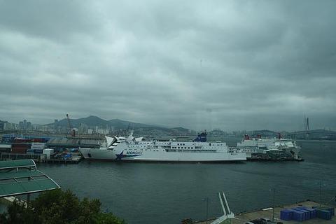 旅客船S号 釜山 済州島