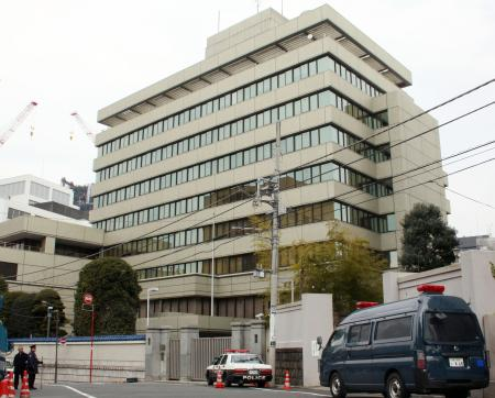 朝鮮総連本部ビル