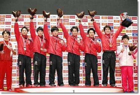 男子団体12-5