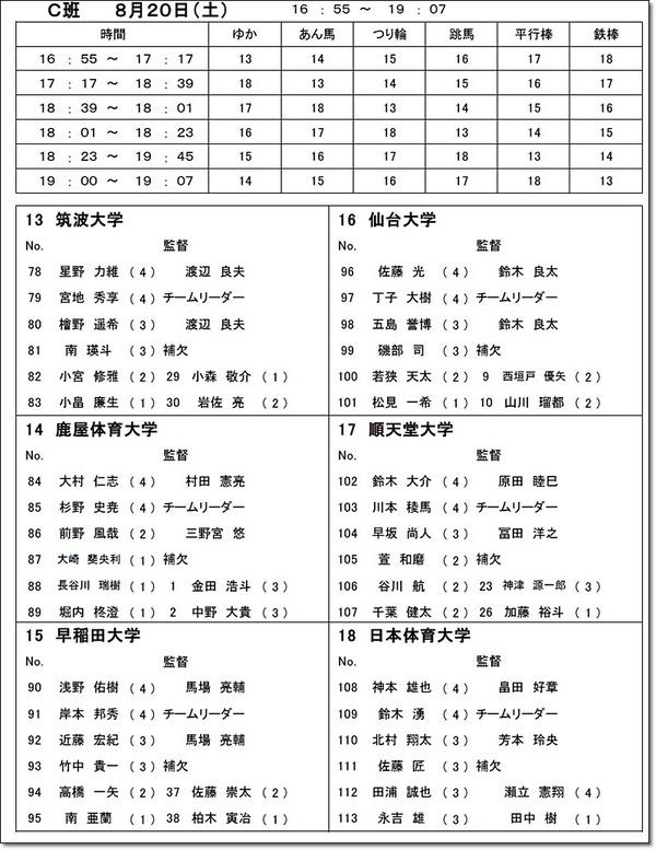 インカレ名簿6