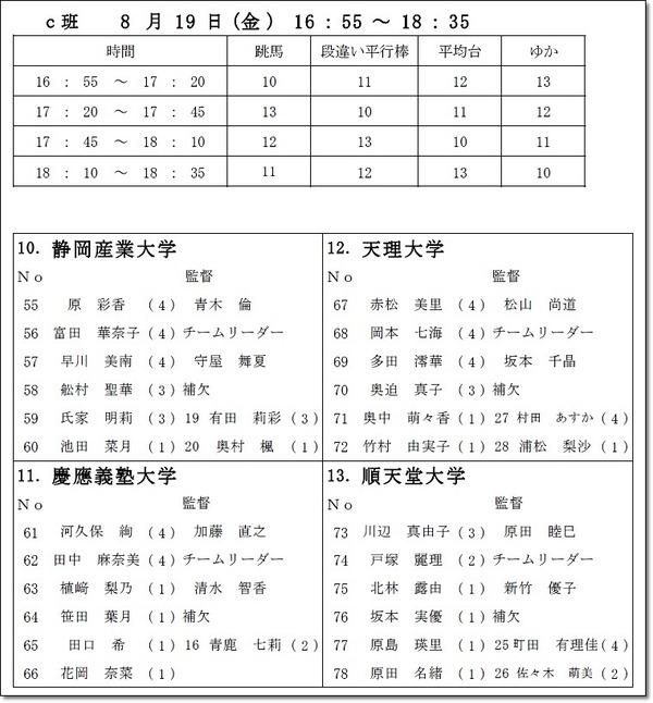 インカレ名簿10