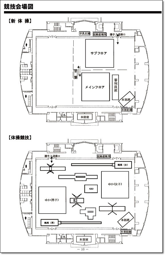 中国ブロック会場図