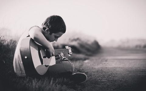 ブログ ギター少年