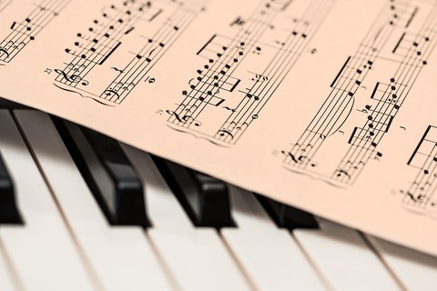 楽譜ブログ写真
