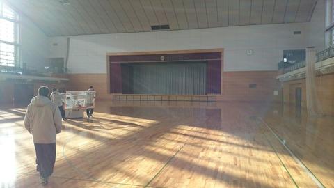 隣 の 中山 町 の 総合 体育館 ...
