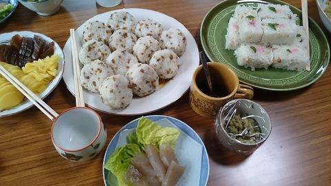 2018-06-02わさび掘り取り体験昼食