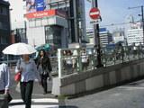 新宿駅南口附近