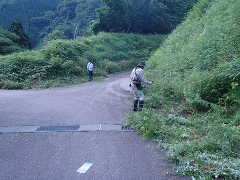 萩原草刈り