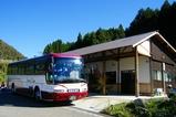 大型バス停車
