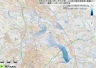 台風19号に伴う大雨による浸水推定段彩図(都幾川1)