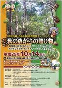 市民の森・石坂の森チラシ表