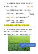 澁谷知子「畦畔等圃場周辺の省力的雑草管理に向けた課題と展望」_03