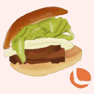 ブログ用ハンバーガー