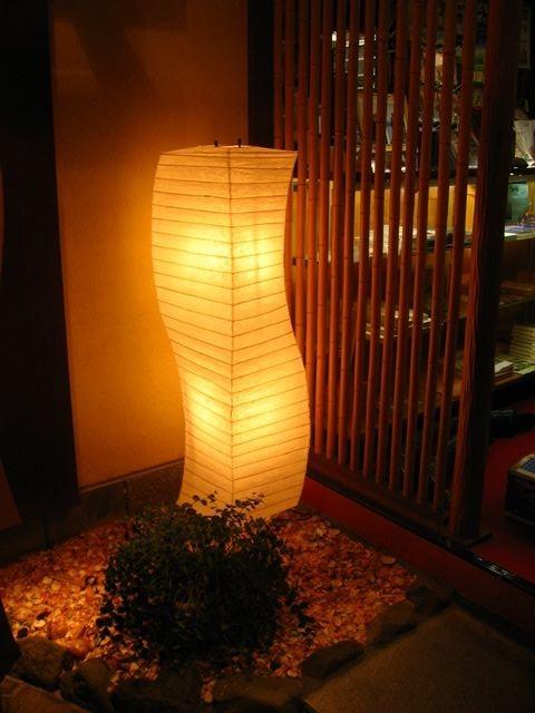 湖月館の行灯