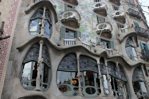 Barcelona, Casa Batllo, Exterior (3)