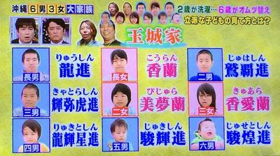『もはや虐待』 11人家族の子供が全員キモワルネーム 「輝弥虎進」 「龍輝虎進」 「美夢蘭」