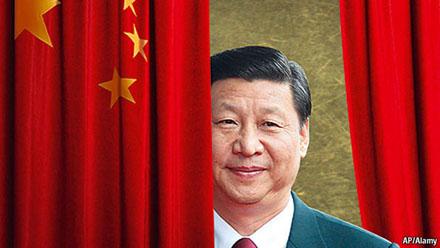 習近平中国国旗