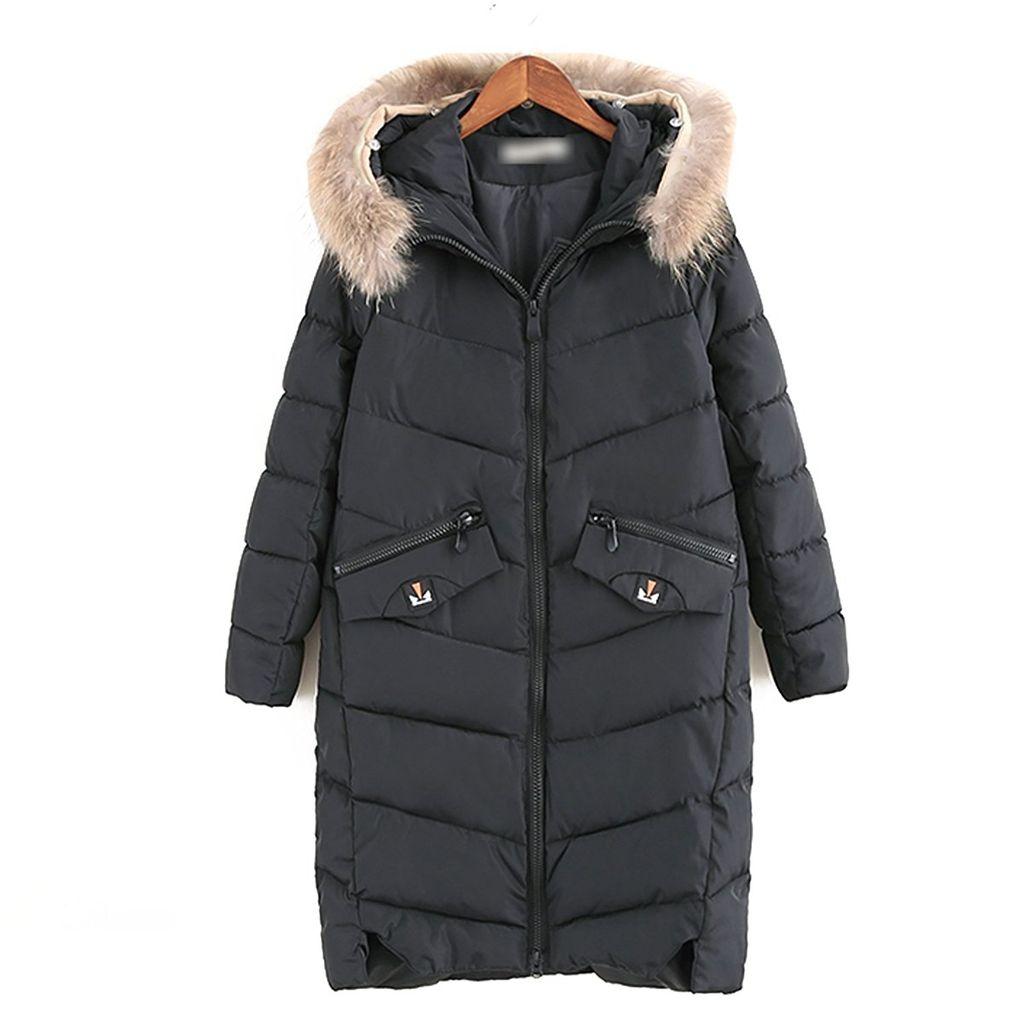 219efe3662f30a 超ロング ダウンジャケット 中綿ジャケット レディース アウター 冬 中綿コート 軽量 中綿ダウン 欧米風 フード付き