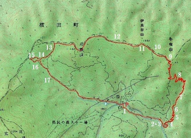 191105牛曳ー伊良谷ー毛無山 - コピー - コピー