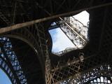 パリ、エッフェル塔2