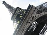 パリ、エッフェル塔1