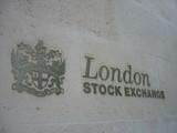 ロンドン証券取引所表札