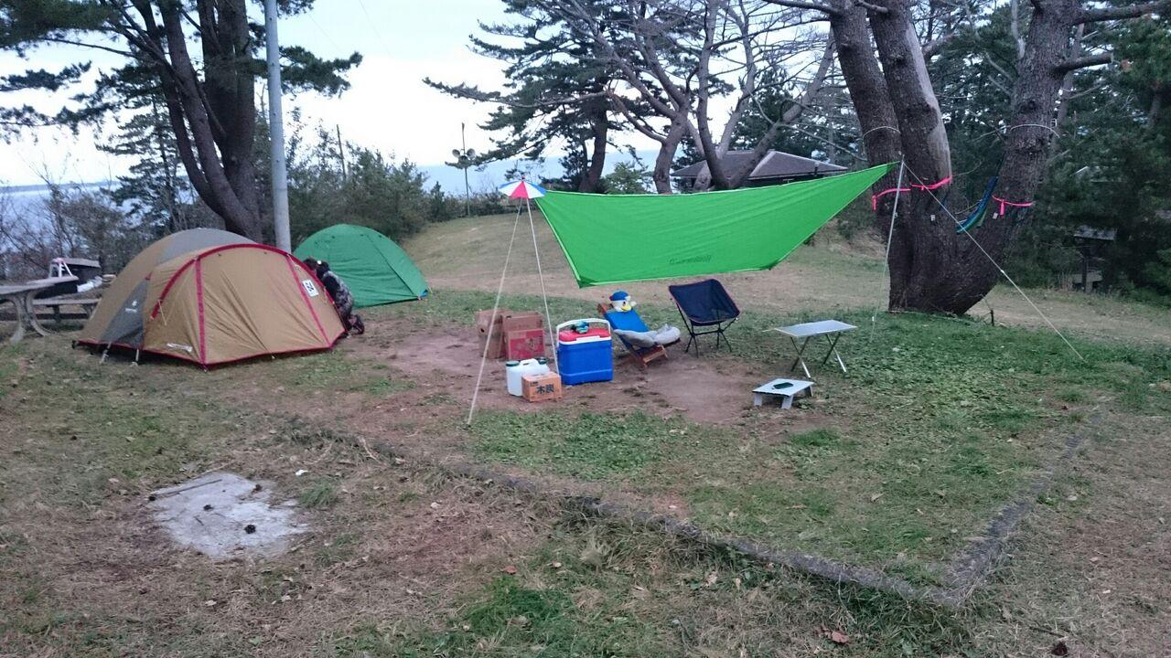 場 神割崎 キャンプ