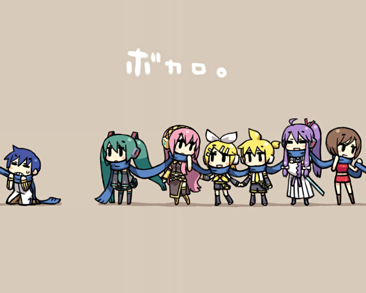 Vocaloid 複数 暇人の壁紙場所