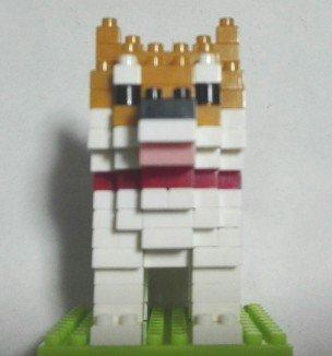 プチブロック柴犬35