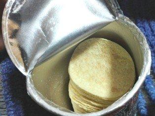 プリングルス 鶏ガラ醤油ラーメン味中身0