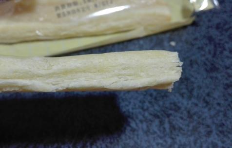 バニラクリームパイ厚み