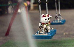 招き猫の写真_e0